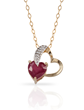 Ruby Gold Necklace