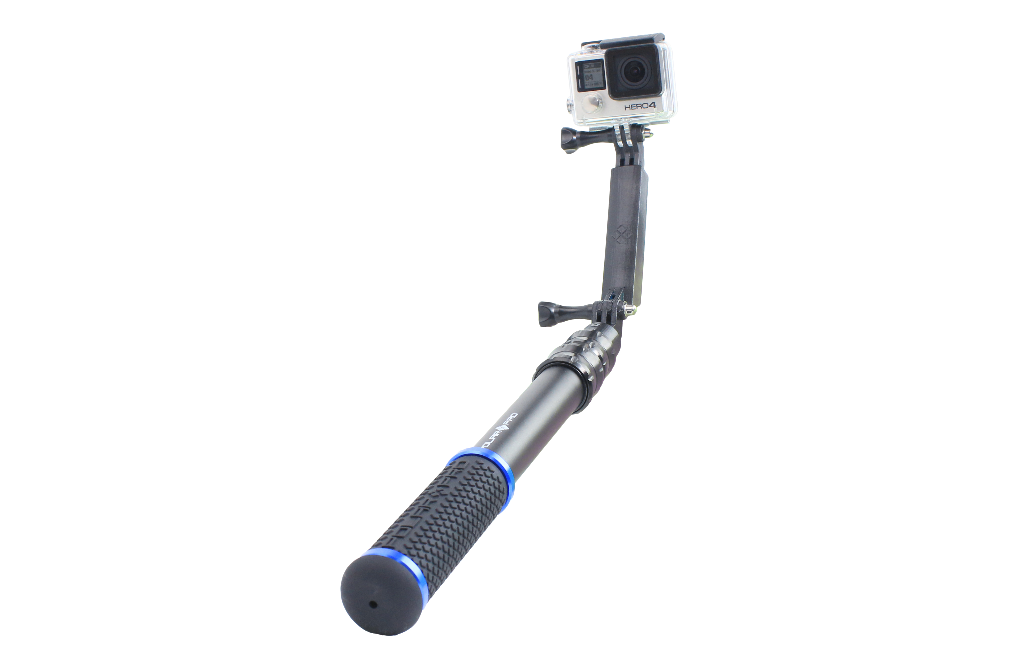 how to put selfie stick on gopro
