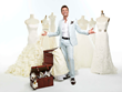 "Randy Fenoli, from TLC's reality series ""Say Yes to the Dress,"" at Michigan International Women's Show"