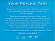 Psychic Test for Psychic Development