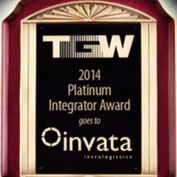Invata Intralogistics receives TGW's highest award.