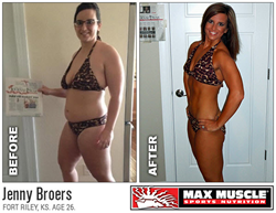 Jenny Broers Max Muscle Sports Nutrition