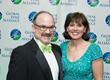 Lauren F. Brooks Hope Award Honoree Dr. Aucott with Dr.  Kotsoris.