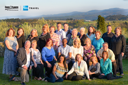 Cruise Planners' top producers trip in Italy in April 2015 with Cruise Planners co-owners Michelle Fee and Vicky Garcia as well as Kier Matthews, Europe Express and Joe Eastep, Oceania Cruises.