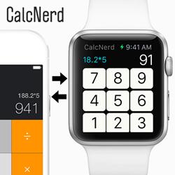 CalcNerd Calculator for Apple Watch