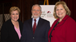 Moderator Janine Rose, News 12 anchor; Dr. Anthony Davidson, dean, The Manhattanville School of Business; and Kathy Meany, director, Women's Leadership Institute.