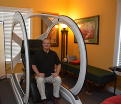 Dirk Simons, Chiropractic, Simons Chiropractic, Magnesphere, Halo, Pain Relief, Magneceutical Health, Magnetic Resonance Therapy, Charlotte, NC