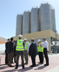 Grace completes Phace 1 of construction for FCC catalysts plant in Abu Dhabi.