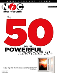 NiC 50: 2015 Ranking of the Most Powerful Americans 50+