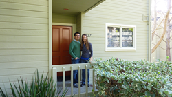 Katherine Firkins and Ignacio Ponce, Coastal Housing Partnership Member Employee