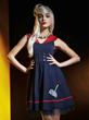 This new Thor Sailor Dress in the Marvel by Her Universe fashion collection (exclusively in select Hot Topic stores and hottopic.com) will be available mid-May with an online pre-sale starting 4/21.
