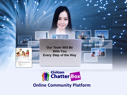 Civicom Webinar to Showcase Analytics Tools in Chatterbox ® Online Community Platform
