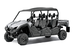 The new Special Edition Viking VI comes in Matte Silver paint with aluminum wheels, a soft sun top, mud flaps, overfenders, under seat storage and a bed rail accessory mount.