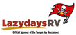 Lazydays & Buccaneers Introduce the Premier RV Tailgating Lot at Raymond James Stadium