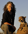 Dr. Laurie Marker, Founder and Executive Director of Cheetah Conservation Fund
