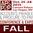 Taulia Named Title Sponsor for The AP Network's Fall 2015 Accounts Payable & Procure-to-Pay Conference & Expo