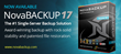 NovaStor Launches NovaBACKUP 17, Single Server Backup for Small...