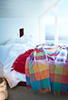One of Our Best Sellers Ever, this Lovely Circus Throw is a Veritable Rainbow of Color.