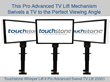 Touchstone Home Products Introduces New Pro Advanced Swivel TV Lift