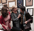 Joan and Nancy chat with Congresswoman Rosa DeLauro, Champion of a National Density Reporting Law