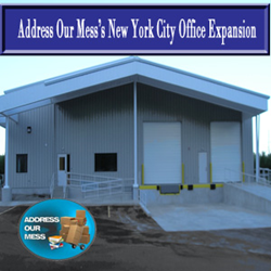 Address Our Mess has expanded it's New York City Operation in order accomodate the growing demand for the five boroughs.