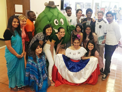 Scottsdale Community College students participate in inclusiveness events on campus, in April, 2014.