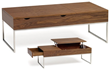 Marlow Coffee Cocktail Table in Walnut HGSD404 from Nuevo Living