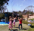 Enormous fun with the gigantic bubbles crafted by Bubble Man Steve Alan is one of 25 exciting activities awaiting children at EcoFest.