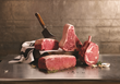 King Cuts, Omaha Steaks biggest steaks ever. By far. You've never seen a steak like this...