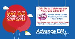 Advance ER Park Cities Open House Invitation