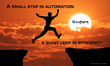 A small step in automation is a giant leap in business agility.