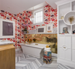 Nest Design Co. Creates Playful Kiss-Themed Bathroom for the 2015 San...
