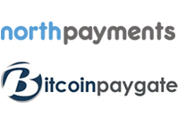 NorthPayments and BitCoingate Logo