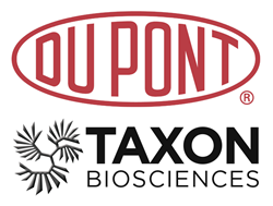 DuPont Logo-Taxon Bioscience Logo