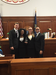 Stetson's trial team won the AAJ National Student Trial Advocacy Competition.
