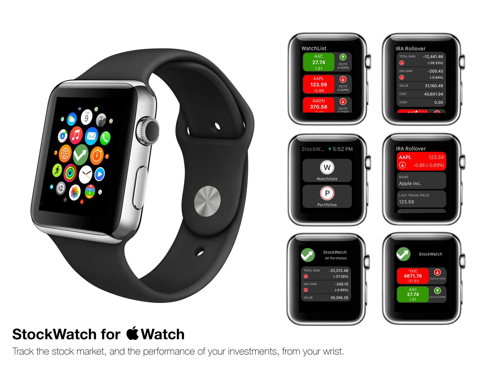 toughturtle llc announces stockwatch for apple watch