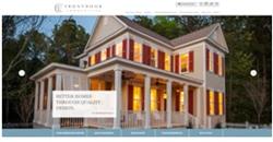residential home builder, Frontdoor Communities, new responsive website design