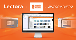 Lectora 12.1 and eLearning Brothers are fully integrated.