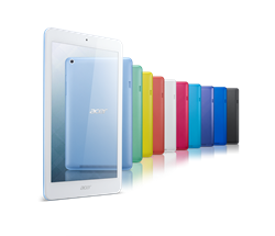 Available in a variety of colors, the new Acer Iconia One 8 B1-820 tablet features touch sensors that are smaller and more precise than the industry standard, making it easy to use a fingertip, pencil or stylus with greater accuracy and fewer mistakes.
