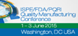 FDA to Co-Sponsor ISPE/FDA/PQRI Quality Manufacturing Conference
