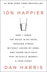 Best-selling book by Dan Harris on meditation