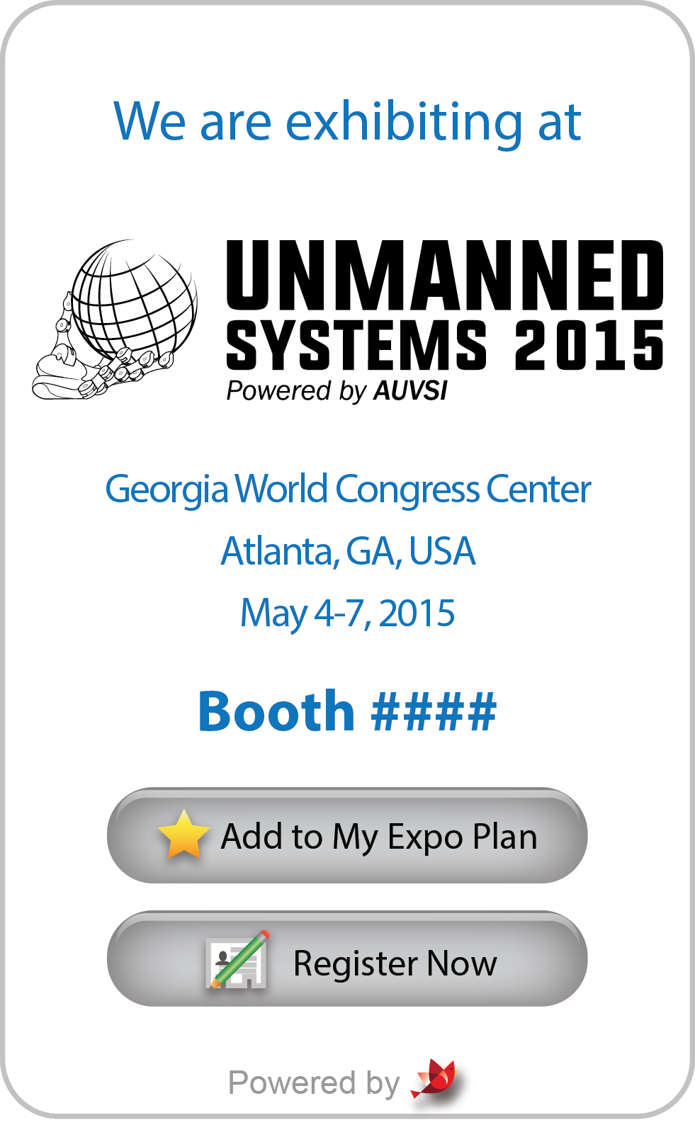 Association of unmanned vehicle systems international trade show