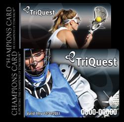 TriQuest Lacrosse Fundraising Cards