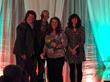 (l-r) Whole Foods - Cathy Strange; Cypress Grove's - Ryan Andrus, Mary Keehn, Pamela Dressler