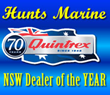 Quintrex Boats Dealer of the year Hunts Marine do it again