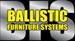 Ballistic Furniture Systems silver logo