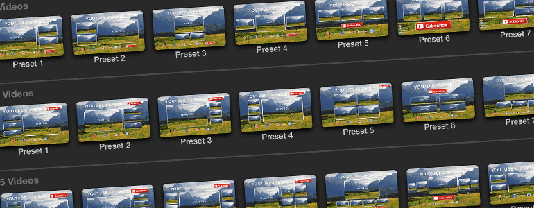 ... Release of Protube Outro, Outro Screen Templates for Final Cut Pro X