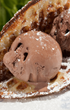 Beach Bread with Chocolate Ice-cream