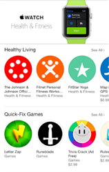 Fitnet Handpicked as Top Healthy Living App in Apple Watch Store