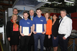 European Springs Apprentices Receive Their Certificates